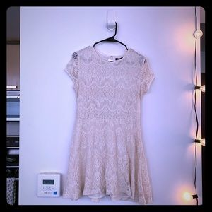 New Urban Outfitters Victorian Lace Knit Dress